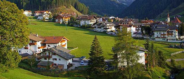 View of the Val Gardena